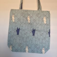Polar Bears Polar Bears, Shopping Bags, Fabulous Fabrics, Reusable Tote Bags, Pattern, Gifts, Collection, Ideas, Shopping Bag