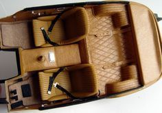 Making your own leather interior for your model