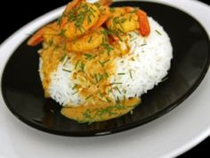 Receta de Camarones al Curry