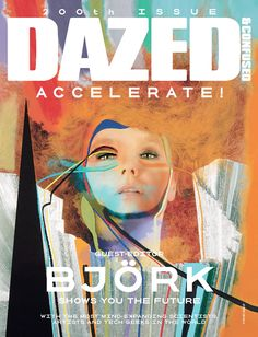 Dazed mag cover featuring @bjork Wow!