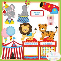 Image result for circus theme clipart Circus Birthday, Circus Theme, Circus Party, Birthday Party Themes, Personalized Gifts For Men, Customized Gifts, Vacation Bible School, Digital Scrapbooking, Kids Toys