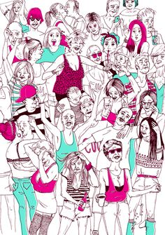 Cool people on Behance by MARTA BELLVEHÍ