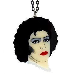 Rocky Horror Picture Show Frank N Furter by sugarandvicedesigns Rocky Horror Picture Show, Snow White, Jewels, Disney Princess, Unique Jewelry, Etsy, Vintage, Musicals, Jewellery