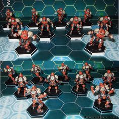 Post your painted teams here | DreadBall: The Futuristic Sports Game | BoardGameGeek