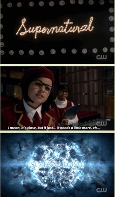[GIFSET] 10x05 Fan Fiction #Supernatural #Supernatural200th /// That intro was seriously awesome!!!