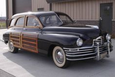 1948 Packard 22nd Series Custom 8 station wagon