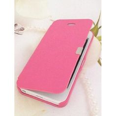 Amazon.com: Euroge Tech® Luxury Magnetic Flip Leather Skin Cover Case For iPhone 5 (Pink): Electronics