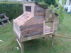 Fabriquer Un Poulailler Avec Des Palettes De Récupération   Blog Jardin Alsagarden - Le Magazine Des Jardiniers Curieux