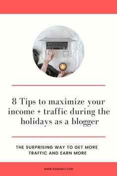 8 Tips to maximize your income + traffic the last quarter of the year Make Money Blogging, Make Money Online, How To Make Money, Blogging Ideas, Online Business, Business Tips, Content Marketing Strategy, Blogger Tips, Blogging For Beginners