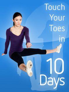 Touch Your Toes in 10 Days - Flexibility Training Yoga de Jordan Garn