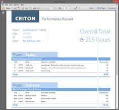 One of many time-tracking forms for employee's payroll with new mobile time tracking app for different devices. Read more here: http://ceiton.com/blog/en/mobile-time-tracking/