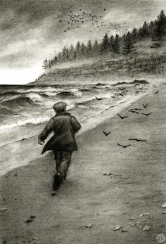 """""""The Distance Between Shores""""  Andrea Kowch"""