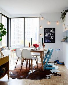 family-friendly dining room