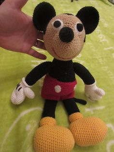 Micky mouse Tweety, Handmade, Fictional Characters, Art, Hand Made, Craft, Kunst, Fantasy Characters, Art Education