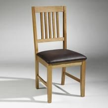 Glasgow Oak Dining Chairs X2 No Description Http://www.comparestoreprices.co