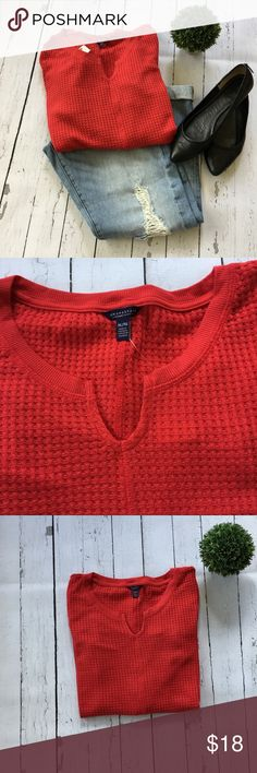 Red Aeropostale V-Neck Sweater Details: Red Waffle Knit Sweater, Super soft Style: V-neck Size: XL Brand:Aeropostale Condition:New with tags Reasonable offers considered   Bundle and save! 📦📭  Thank you for stopping by to check out my closet! 😀 Aeropostale Sweaters V-Necks