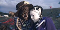 A Robot and Scarecrow Fall in Love in the Live Action Animated Short Film 'Robot & Scarecrow'