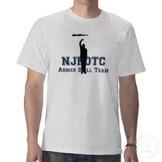 Navy Armed Drill Team http://www.zazzle.com/njrotc_armed_drill_team_t-235095388010813786