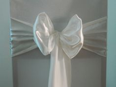 Ivory Satin  www.blueorchid-events.com