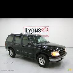 1995 Ford Explorer, I had a black one and I loved it.