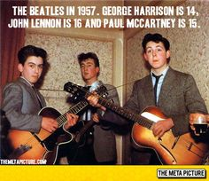 The Beatles Back In 1957