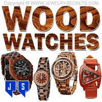 ►► WOOD WRIST WATCHES ►► Jewelry Secrets