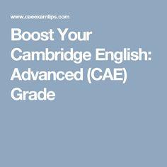 Boost Your Cambridge English: Advanced (CAE) Grade