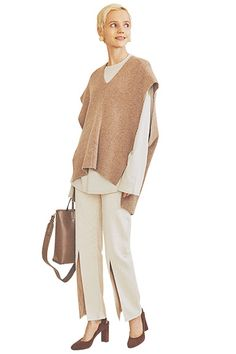 People Png, Gisele, Winter Wear, Ikon, Fasion, Bell Sleeve Top, Style Inspiration, Beige, Knitting