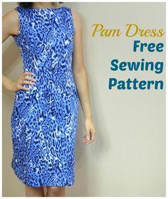 (9) Name: 'Sewing : Pam Dress Pattern