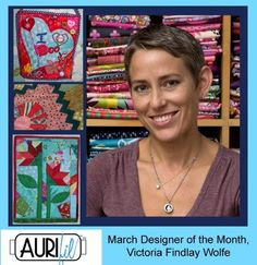 March Designer of the Month, Victoria Findlay Wolfe