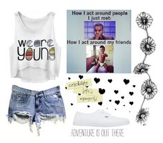 """"""""""" by miriam038 ❤ liked on Polyvore featuring Vans"""