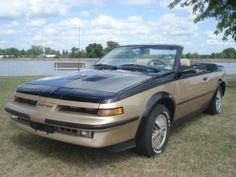 1987 Pontiac Sunbird GT Convertible #pontiac #sunbird #windscreen http://www.windblox.com