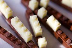 Functional Chocolate LEGOs by Akihiro Mizuuchi
