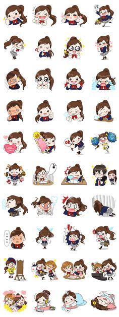 画像 - Yuko the Schoolgirl by Line.me
