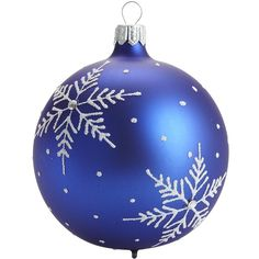 European Snowflake Ornament - Use pattern for paper snowflake Painted Christmas Cards, Blue Christmas, Christmas Balls, Winter Christmas, Christmas Crafts, Christmas Decorations, Xmas, Christmas Ornaments, Holiday Decor