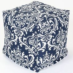 Majestic Home Goods French Quarter Indoor Outdoor Small Cube Ottoman - 17 x 17 x 17