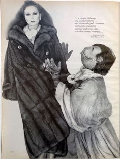 Dangerous Minds | Star Wars characters modeling fur for Vogue in 1977