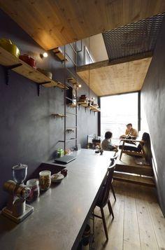 Kitchen Interior, Room Interior, Home Interior Design, Small Rooms, Small Spaces, Lofts, Cabana, Mini Loft, Loft Storage