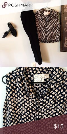 Buy the outfit New York Co Two pieces for $ 15 Pants New Yoork Company Blouse is Commited Brand Boutique pants size 6 i can sell owe each one blouse is size Large but it runs like M New York & Company Other