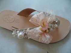 salmon gold.handmade leather sandal by ellishoes.blogspot.com