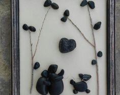 Arte flores de piedra a la venta ahora era 70.00 por CrawfordBunch