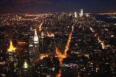 Empire State Building view #nyc