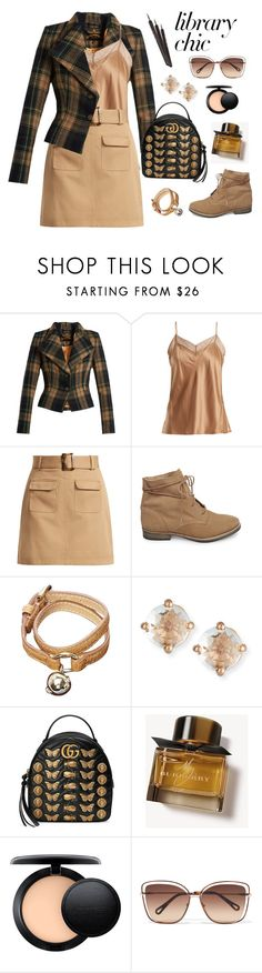 """Untitled #2328"" by ebramos ❤ liked on Polyvore featuring Vivienne Westwood Anglomania, Vince, AlexaChung, Steve Madden, Mulberry, Suzanne Kalan, Gucci, Burberry, MAC Cosmetics and Chloé"