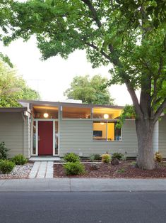Try to avoid building a new house that looks like a renovated1950s house. Is it the siding that gives it away? Ceiling height?  http://www.houzz.com/projects/68796/32--Small-1950s-Eichler-Expansion#