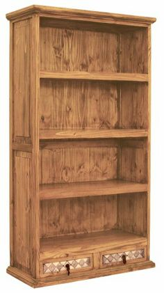 Marble And Pine Country Bookcase