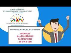 #DiscoverYourTalent #EUVocationalSkills  European Youth Ne râtez pas une occasion comme celle-ci : Accès gratuit à tout le catalogue Mobile learning de La Formation Pour Tous aujourd'hui 21 novembre jusqu'à 18h! RDV tout de suite sur https://mobile.laformationpourtous.com/
