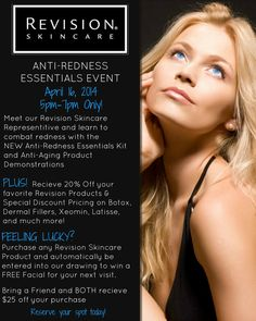 You're invited! Skincare Event at Charleston Medical Spa!! 843.225.3223