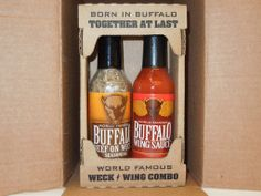 Beef on Weck & Buffalo Wing Sauce Combo Buffalo Food