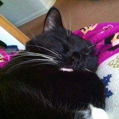 My baby sleeping :)