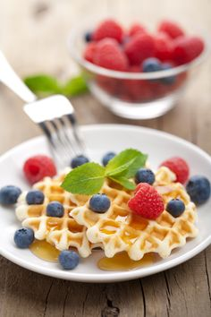 Classic Waffle : This is the basic recipe for authentic and delicious waffles, that you are invited to garnish with your preferred toppings!